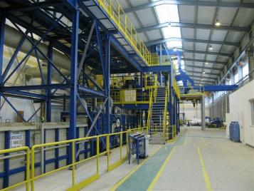 completion of the construction of the Galvanizing Plant in Legnica, and opening of a new line for galvanizing hot-rolled strips